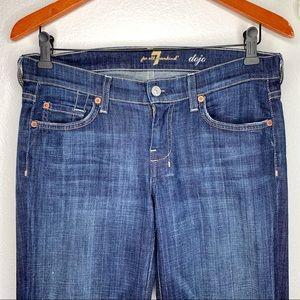 7 For All Mankind Jeans - ❌SOLDFor All Man Kind Dojo Flare Leg Jeans